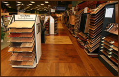 Locally owned and operated flooring showrooms with national buying power.